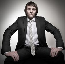 Free Young Businessman Stock Photography - 7904562