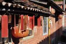 Chinese Traditional Building. Royalty Free Stock Image