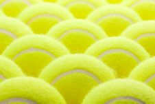 Free Group Of Tennis Balls Royalty Free Stock Photography - 7905597