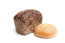 Free Seed Bread And Bun. Royalty Free Stock Photo - 7906095