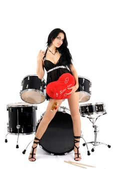 Free Sexy Rock-n-roll Royalty Free Stock Photos - 7906328