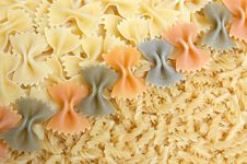Italian Noodles. Stock Photo