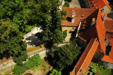 Free Bird S Eyeview Of Cesky Krumlov Stock Photo - 7906760