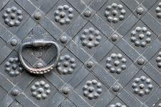 Free Steel Door Handle Horizontal Royalty Free Stock Images - 7907679