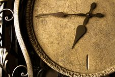 Eternity (retro Clock-face) Stock Images