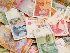Free A Collection Of Various Currencies Royalty Free Stock Images - 7907809