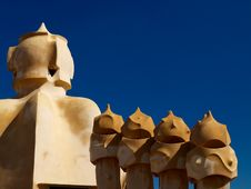 Free Gaudi S House Royalty Free Stock Images - 7908189