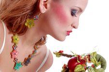 Free Girl Kissing Toy Royalty Free Stock Photos - 7908338
