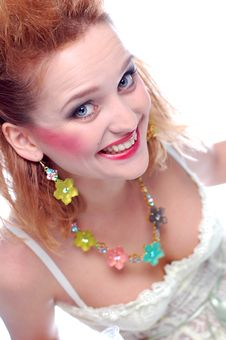 Free Girl Laughinig Stock Photo - 7908360