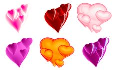 Free Beautiful Hearts Stock Photo - 7908760
