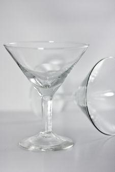 Free Empty Wineglasses Stock Image - 7909121