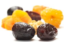 Free Dates And Different Dried Fruits Royalty Free Stock Photos - 7909828