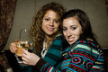 Free Two Girls With Drinks Stock Photo - 7919910