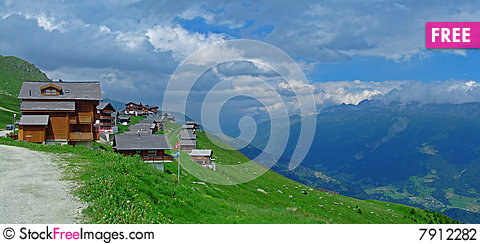 Bettmeralp Stock Photo