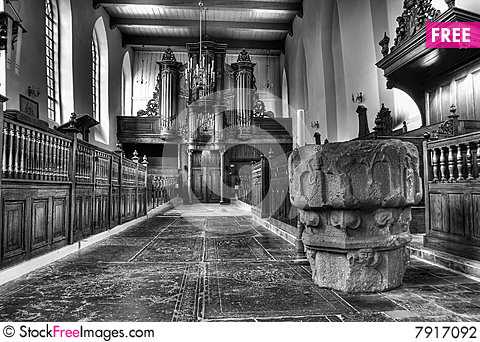 Free Church In Holland Stock Photography - 7917092