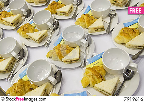 Free Lunch Sets Royalty Free Stock Image - 7919616
