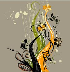 Free Floral  Abstraction Royalty Free Stock Photography - 7910107
