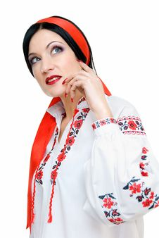 Free Ukrainian Beauty Royalty Free Stock Image - 7910886
