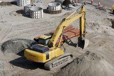 Free Bulldozer At Work Stock Photo - 7910930