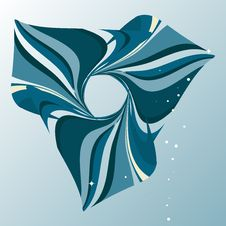 Free Abstract Marine Blue Background Royalty Free Stock Image - 7910936