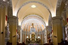 Free Cathedral De Arequipa On Plaza De Armas In Peru Stock Photo - 7911510