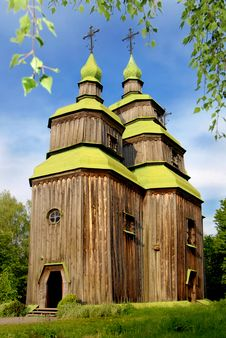 Free Wooden Church Stock Images - 7912264