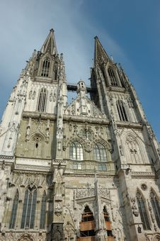 Free Cathedral Of St. Peter In Regensburg,Germany Stock Photography - 7912782