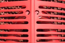 Large And Small Tractor Grill Ribs With Eyes Royalty Free Stock Photos