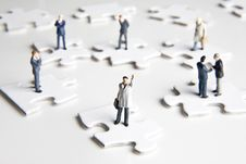 Free Putting The Pieces Together Royalty Free Stock Photo - 7913215