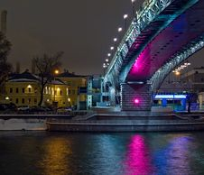 Free New Bridge In Moscow City Stock Photo - 7913500