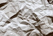 Free Crumpled Paper Stock Image - 7913961