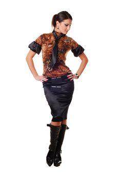 Free Beautiful Brunet Woman Stock Photos - 7914823