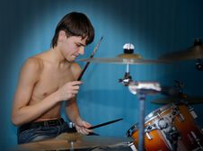 Free Drummer Royalty Free Stock Photos - 7914908