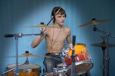 Free Drummer Royalty Free Stock Image - 7914976