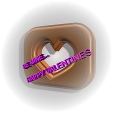 Free Chocolate Heart Valentine Stock Photography - 7915162