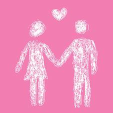 Free Heterosexual Couple Royalty Free Stock Photography - 7915217