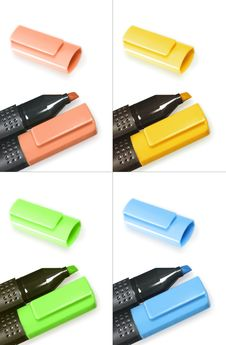 Free Highlighters Set Stock Photo - 7915540