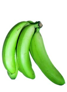Free Green Bananas Royalty Free Stock Images - 7916319