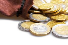 Free Euro Coins Royalty Free Stock Images - 7916369
