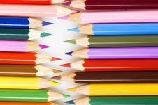 Free Color Pencils Royalty Free Stock Photo - 7916395