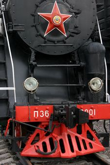 Free Old Russian Train Stock Photos - 7916713