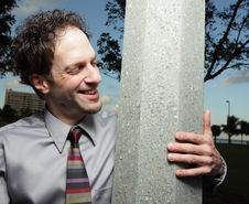 Free Smiling At The Pole Stock Image - 7916901