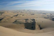 Free Desert In Peru Stock Photography - 7917002