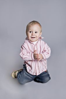 Free A Little Boy Smiles Royalty Free Stock Photos - 7917868