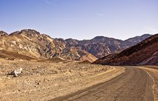 Death Valley Road Into Artist Palette