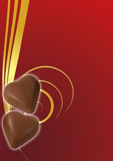Free Two Chocolate Royalty Free Stock Images - 7918619
