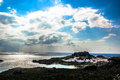 Free Rhodes- View To Lindos Royalty Free Stock Images - 79113989