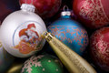 Free Assorted Christmas Ornaments. Royalty Free Stock Photography - 7929117