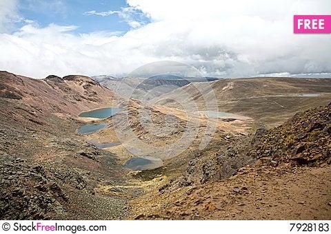 Chacaltaya Stock Photo