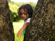 Free Asian Girl In A Park Royalty Free Stock Photos - 7920068
